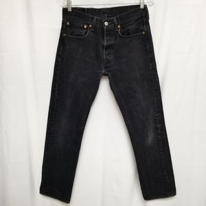 Levi's Red Tag 501 Faded Black Jean High Rise 31
